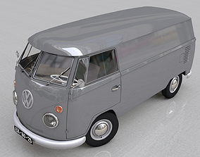 VOLKSWAGEN TRANSPORTER CARGO - 1964 3D model