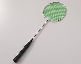 Badminton Racquet 3D