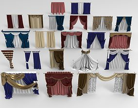3D tulle Curtains - 21 pieces