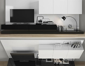 Tv stand 3D model realtime