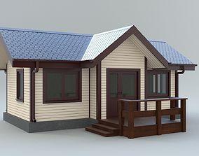 Cottage house 1 3D