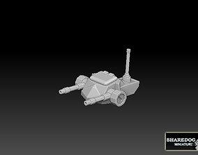 Twin Machinegun Turret 3D printable model