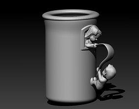 Romeo Juliet Cup 3D print model