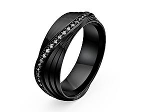 Wedding Band Ring 3D models 3D print model