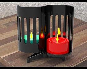 plastic 3D print model Candlestick
