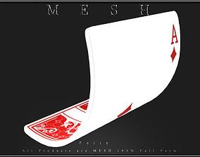 3D asset Playing Card 02