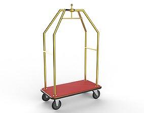 Hotel Trolley 06 3D model