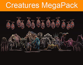 Creatures MegaPack 3D model