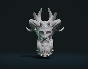 3D print model Demon Head demon