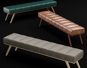 3D model bed bench 2