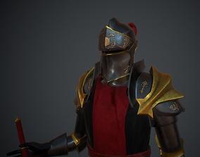 3D asset Armor No2