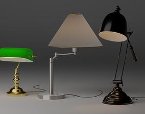 3D Desktop Lamp Pack