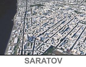 3D model Saratov City