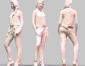 3D printable model Girl Posing low