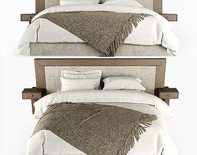3D model long Double bed