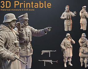 3D printable model GERMAN SOLDIERS 1 35 SCALE