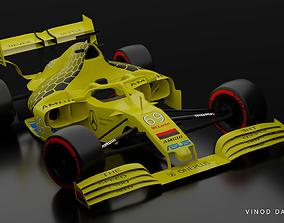 Mercedes Benz MCLaren Formula 1 3D