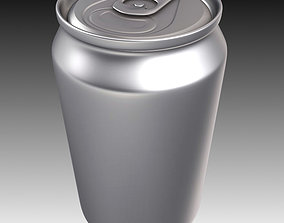 Aluminum Can pop 3D model
