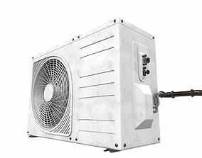 3D model air-conditioner Air conditioner outdoor 3a