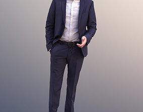 10958 - Anselmo Standing Business Man 3D model