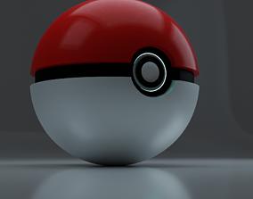 poemon ball 3D model