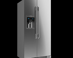 3D model Electrolux Side-by-Side Refrigerator