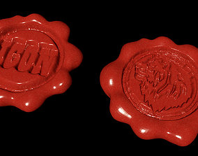 3D model Wax Seal - adaptable