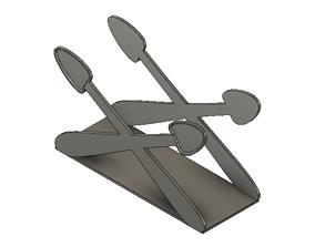tissue holder for dining table 3D printable model