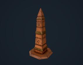 Obelisk 2 3D asset