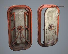 3D asset Blast door Game-ready