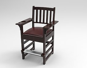 Spectator chair with complete Drawing and 3D model