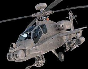 3D model AH-064 Apache longbow