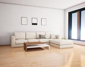 Photo-Realistic Archviz Interior Real time 3D asset