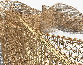 Roller Coaster 03 3D