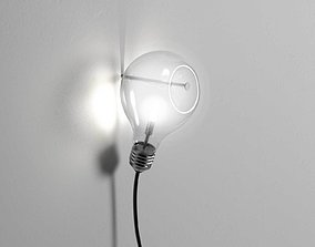 3D model Edison s Nightmare Wall Lamp