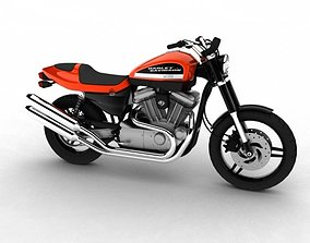 Harley-Davidson XR1200 2012 3D model