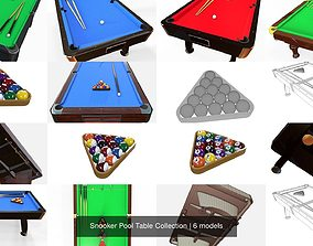 Snooker Pool Table Collection 3D