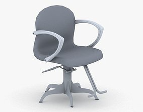 3D model 0902 - Hairdresser Chair