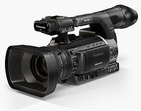 3D asset Panasonic AG-AC160A AVCCAM Series professional