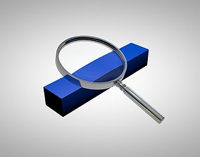 Magnifying Glass - Magnifier 3D model