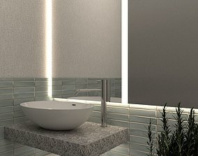3D Bathroom Interior Sketchup