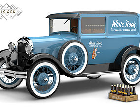 3D Ford Model A 1928 Delivery Rigged ford