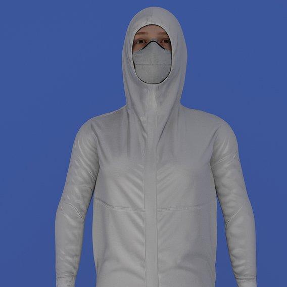 nurse protective cloths.