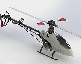 Belt CP V2 Custom RC Helicopter 3D