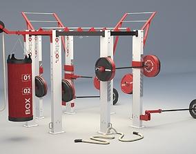 3D Escape - Fitness Octagon Training Frames Workout