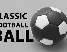 football 3d Soccer Ball 3D model game-ready