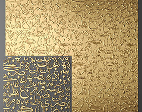 Lattice Arab panel 3D 6