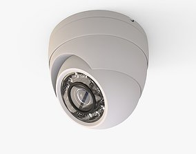Security Camera - High and Low Poly versions 3D model