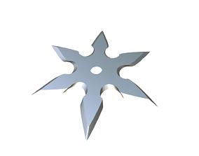 3D print model training Shuriken