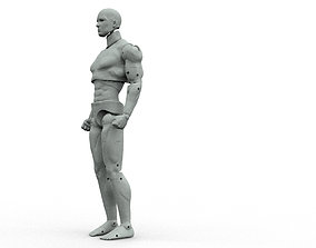 Hero Articulated Action figure - 3d Print and customize